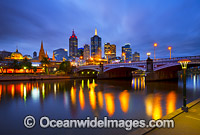 Melbourne Cityscape Photo - Gary Bell