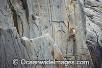 Rock Climbers Tasmania Photo - Gary Bell
