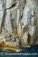 Rock Climbers Beowulf Wall Photo - Gary Bell