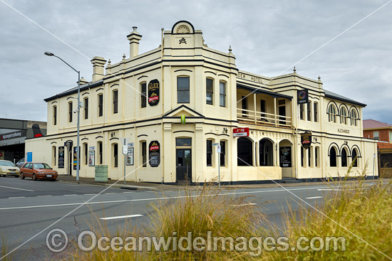 The Alexander Hotel, situated in Devonport, Tasmania, Australia. Photo - Gary Bell
