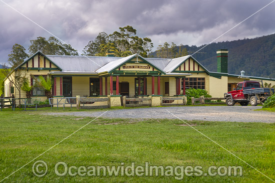 Pub In The Paddock, situated in Pyengana, Tasmania, Australia. Photo - Gary Bell