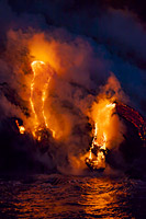 Volcano Hawaii Photo - David Fleetham