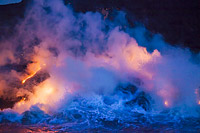 Kilauea Volcano Photo - David Fleetham