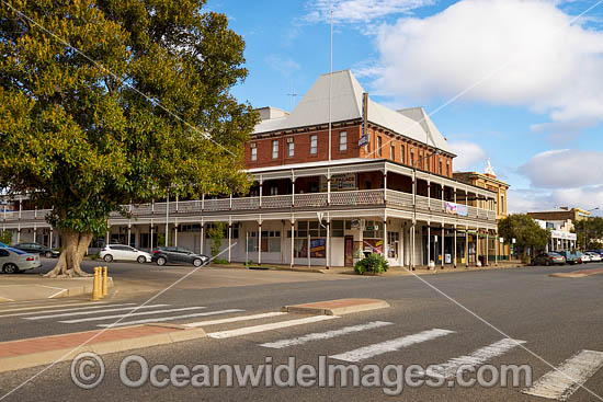 The historic and heritage listed Palace Hotel, established in 1889, is situated in the heart of the Silver City of Broken Hill, New South Wales, Australia. Photo - Gary Bell