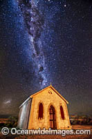 Milky Way and Historic Church Photo - Gary Bell