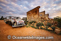 Abandoned old car Silverton Photo - Gary Bell