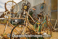Old bicycles Silverton Photo - Gary Bell