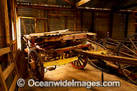 Old horse drawn wagon Photo - Gary Bell