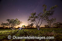 Camping under stars in outback Photo - Gary Bell