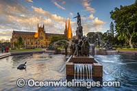 Archibald Fountain Sydney Photo - Gary Bell