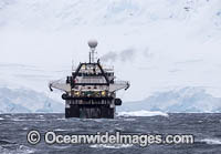 Krill trawling vessel photo