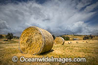 Hay Bales Country NSW photo