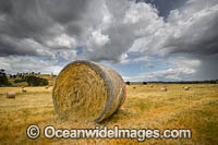 Hay Bales Country NSW Photo - Gary Bell