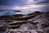 Bermagui at sunrise photo