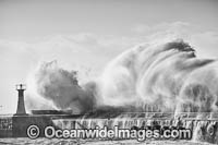 Breaking wave Cape Town photo