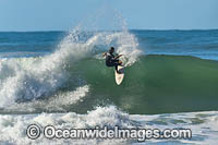 Surfing Sawtell Photo - Gary Bell