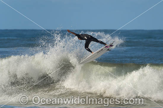 Surfing at Sawtell, New South Wales, Australia. Photo - Gary Bell