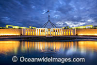 Parliament House Canberra Photo - Gary Bell