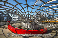 Web Bridge Melbourne Photo - Gary Bell