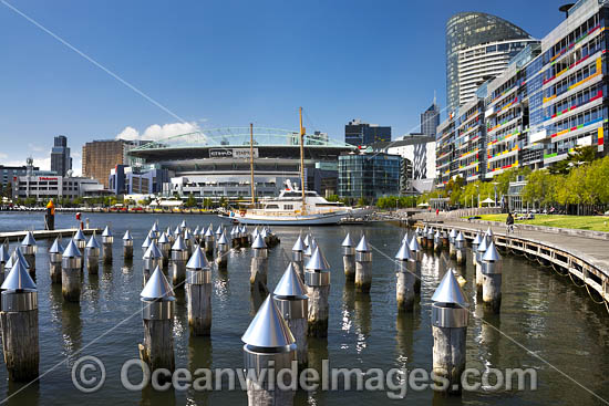 Melbourne Docklands. Melbourne City, Victoria, Australia. Photo - Gary Bell