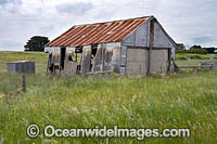 Abandoned garage Port Fairy Photo - Gary Bell