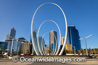 Elizabeth Quay Spanda Sculpture Photo - Gary Bell