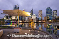 Elizabeth Quay Perth Photo - Gary Bell