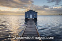 Boatshed Swan River Photo - Gary Bell