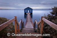 Swan River Boatshed Photo - Gary Bell