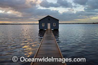 Blue Boat House Perth Photo - Gary Bell