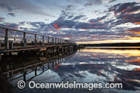 Wallaga Lake and Bridge Photo - Gary Bell