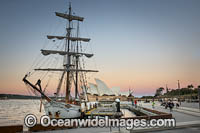 Sailing Ship Sydney Harbour Photo - Gary Bell