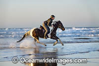 Horseriding Coffs beach Photo - Gary Bell