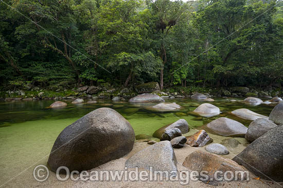 Mossman Gorge, situated in the Daintree National Park. Far North Queensland, Australia. Photo - Gary Bell