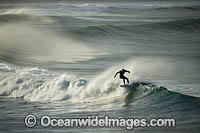 Surfer riding waves Photo - Gary Bell