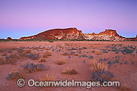Rainbow Valley at dusk Photo - Gary Bell
