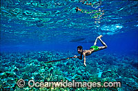 Village Spearfisherman with speargun image