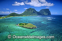 Aerial Lord Howe Island Photo - Gary Bell