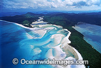 Aerial Whitsunday Island photo