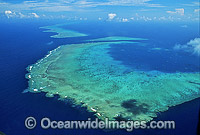 Aerial Ribbon Reefs Photo - Gary Bell