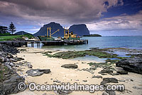 Lord Howe Island jetty photo