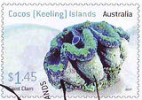Giant Clam stamp