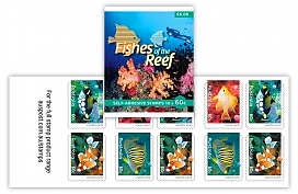 Fishes of the Reef Stamp