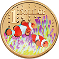 Clown Fish Coin