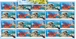 Great Barrier Reef Stamps