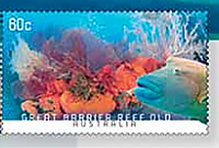 Great Barrier Reef Stamp