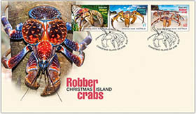 Robber Crab Stamp