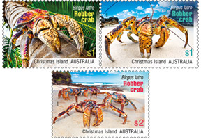 Robber Crab Stamps