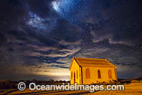 Historic Church and Stars